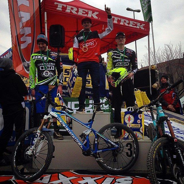 I vincitori della gara di Petosino, 15 marzo 2015