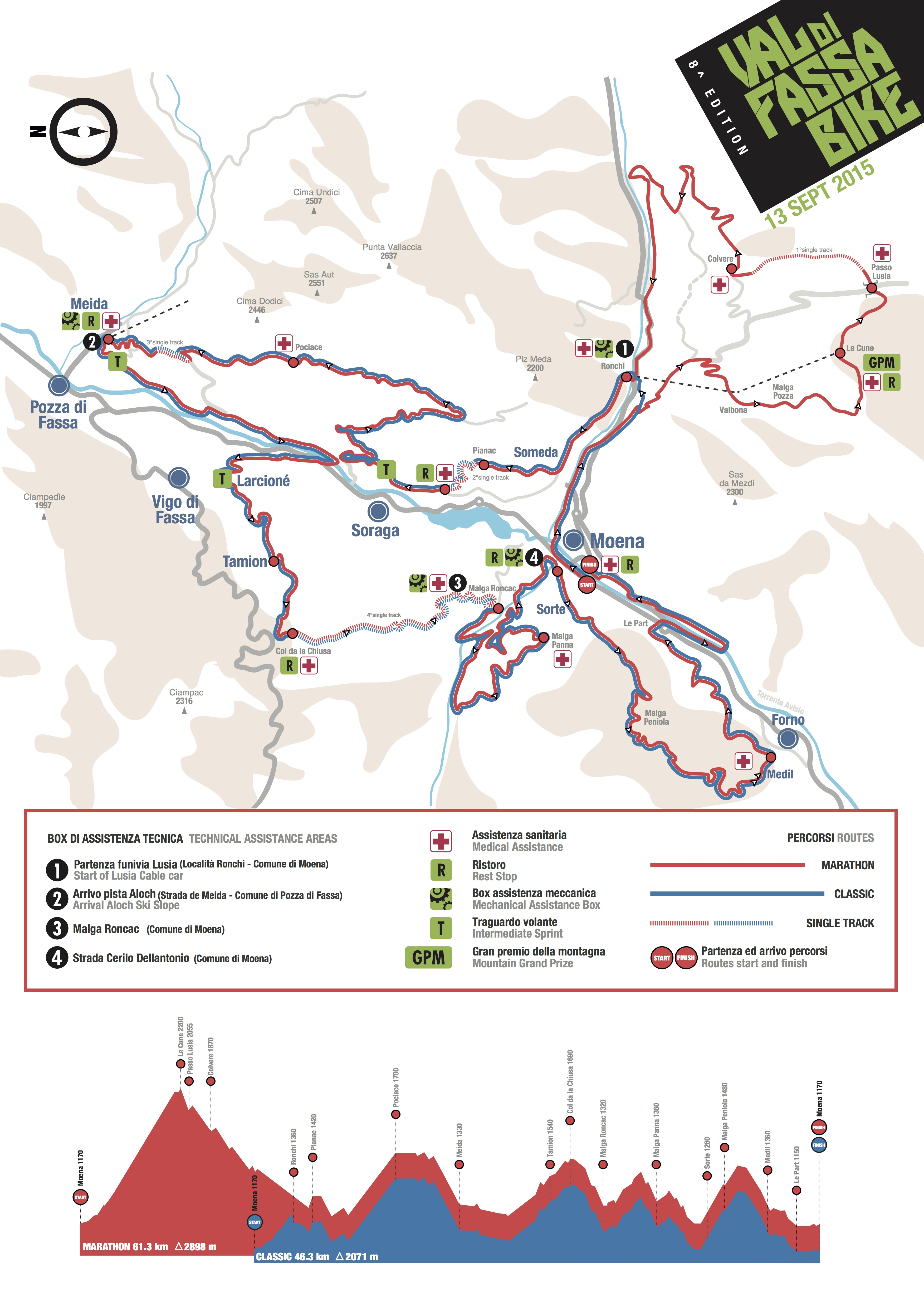 Val di Fassa Bike pi single track e sterrati per ledizione 2015