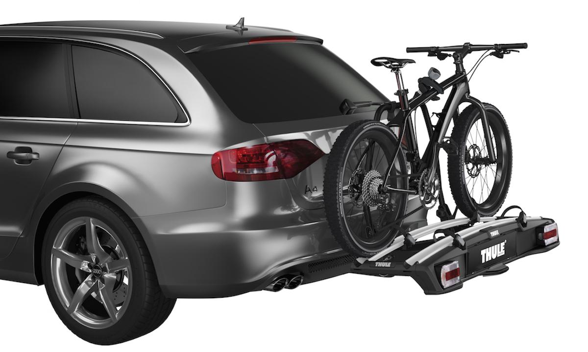 video novit thule 2016 ecco i portabici anche per fatbike ed e bike. Black Bedroom Furniture Sets. Home Design Ideas