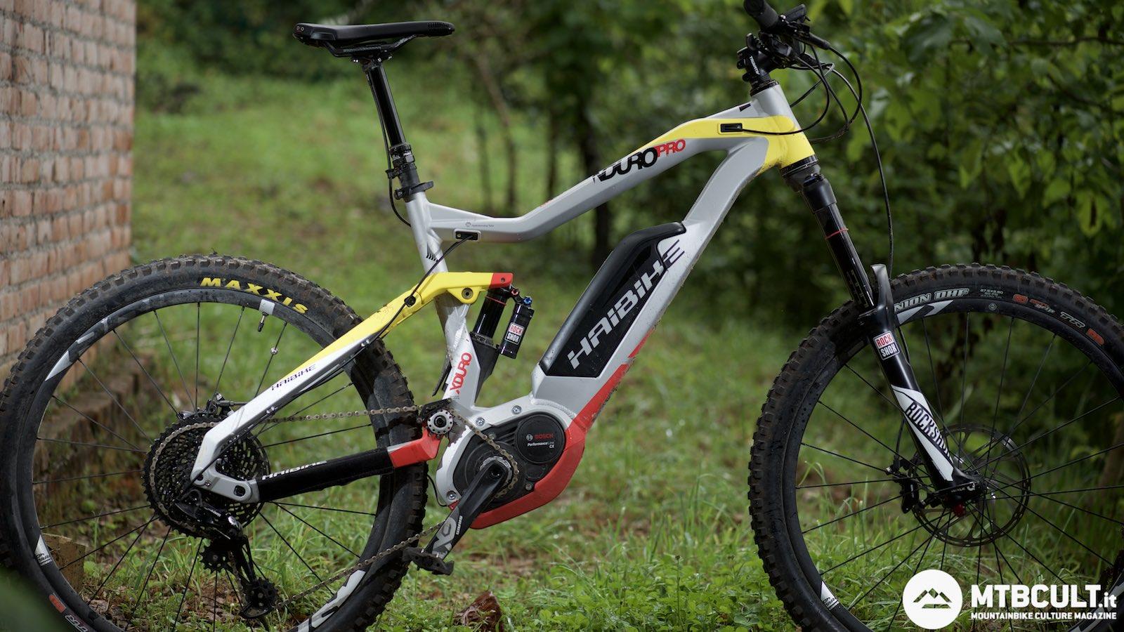 e-bike in montagna
