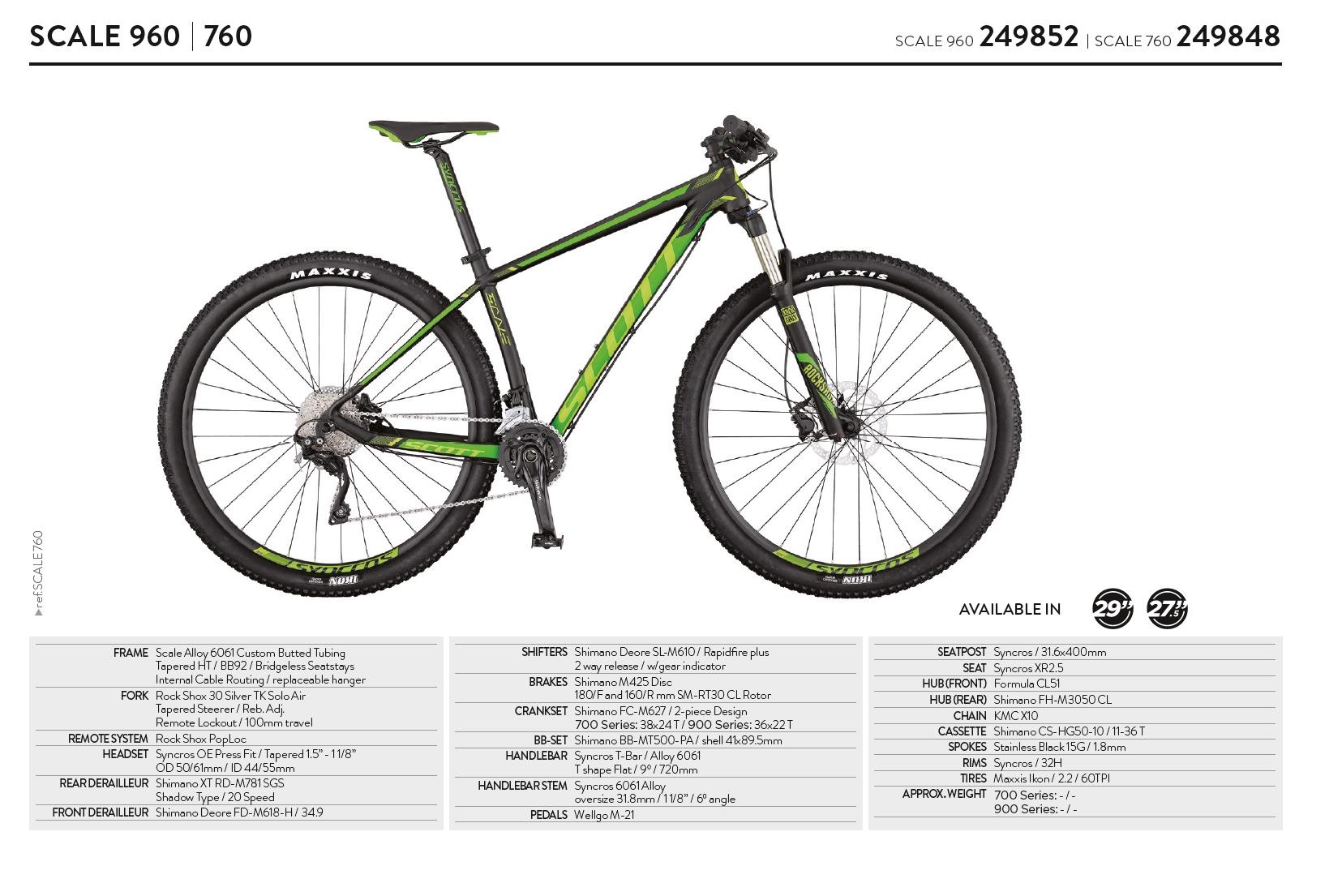db15fdf98f2 Anche per la gamma Scott Scale non sono ancora stati ufficializzati i  prezzi per il mercato italiano. Appena ci verranno comunicati aggiorneremo  l'articolo.
