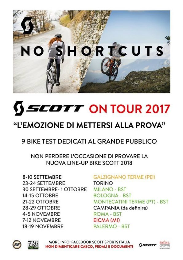 Scott on Tour 2017