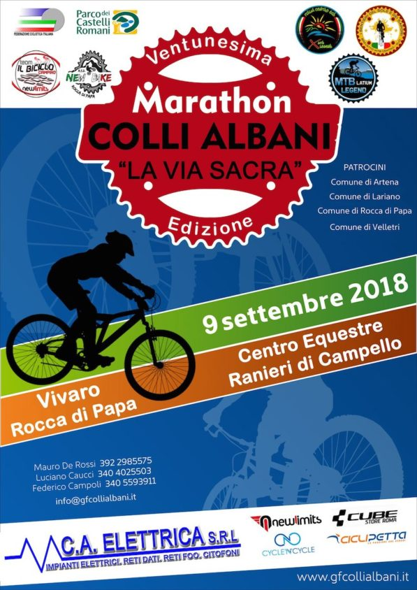 marathon dei colli albani