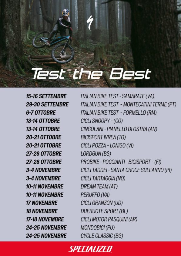 Test the Best Specialized