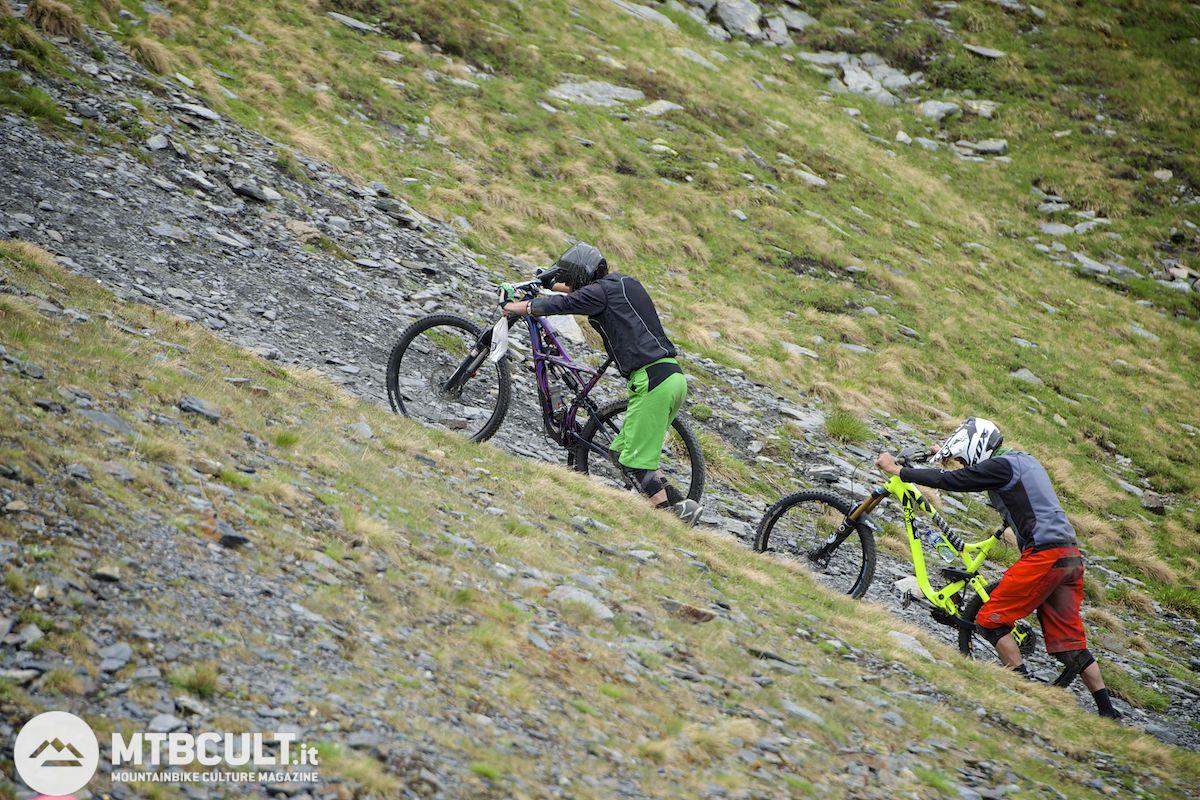Allenarsi per l'enduro con una sola bici