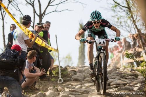 Alexander Gehbauer e il team Bianchi hanno vinto nella categoria elite.