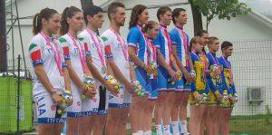 Staffetta azzurra d'argento alle Olimpiadi Giovanili di Nanchino