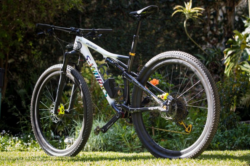Specialized S-Works Epic 2018 di Annika Langvad