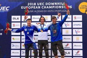 Campionati europei Dh 2018: tre bronzi e due ori per gli azzurri