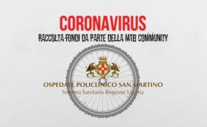 Raccolta fondi: la comunità Mtb mobilitata per il San Martino di Genova