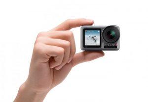 DJI Osmo Action: la prima action cam con doppio LCD a colori
