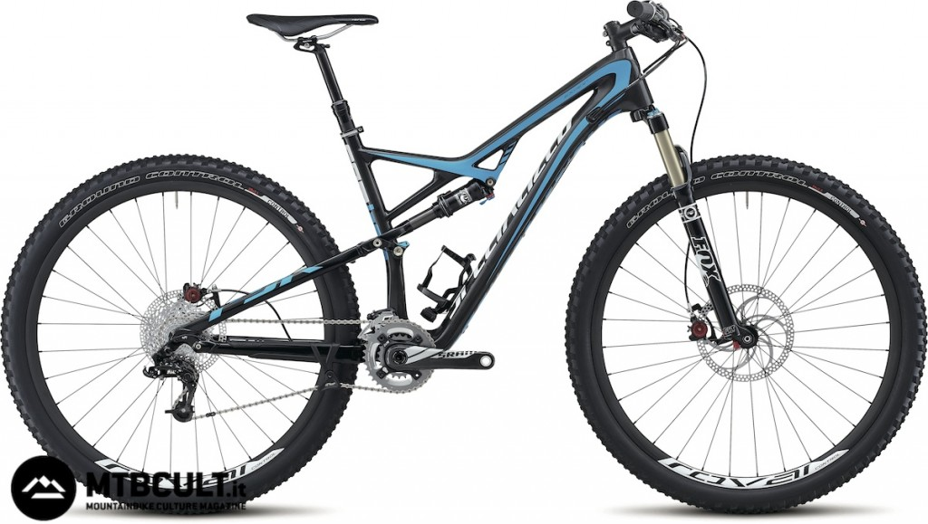 La Specialized Camber Expert Carbon.