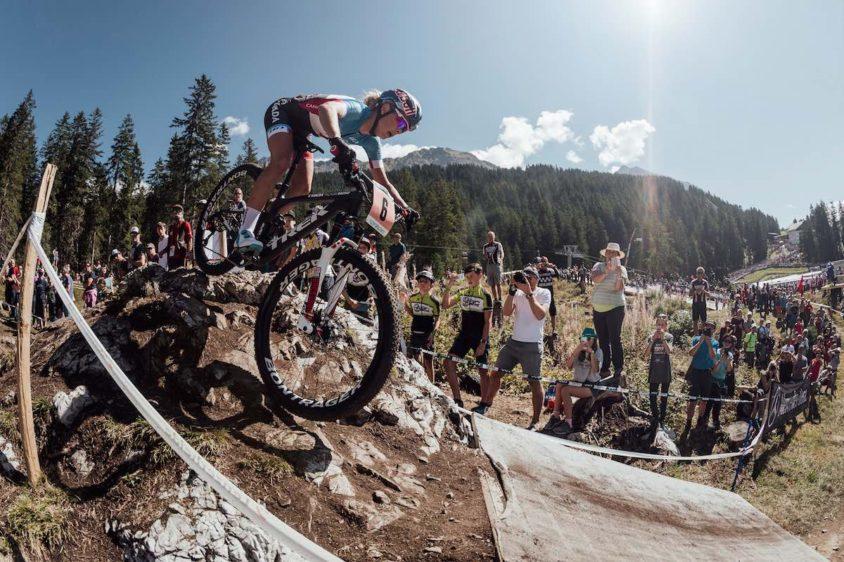 Campionati del Mondo XCO, bici da strada per il biker
