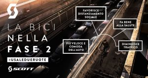 «Ripartiamo dalla bici» ecco il messaggio di Scott Italia per la Fase 2