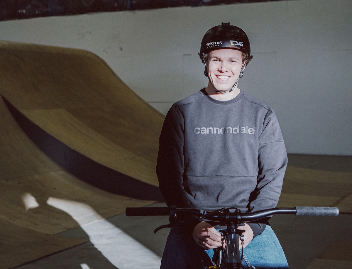 Max Fredriksson in Cannondale