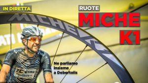 LIVE - Ruote Miche K1 da Xc e Marathon: ne parliamo con Massimo Debertolis