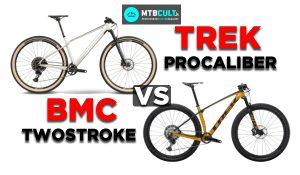"""BMC Twostroke 01 vs Trek Procaliber: due hardtail dal prezzo """"umano"""" a confronto"""