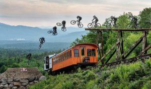 VIDEO - Carson Storch si prepara alla Rampage... Saltando i treni ?