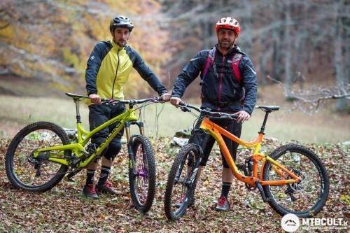 I due tester della comparativa: Stefano Chiri (a sinistra) e Simone Lanciotti (a destra).