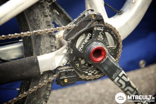 Compatibilità Iscg05 per la bici da enduro.