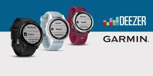 Sportwatch Garmin e musica: disponibile la funzione Deezer