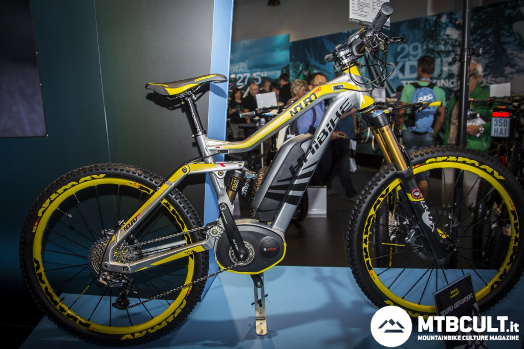 La Xduro Nduro Pro è una bici da 180mm pensata per l'enduro, una novità molto interessante in casa Haibike.