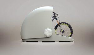 """Alpen Bike Capsule: un """"garage alternativo"""", sicuro ed elegante"""
