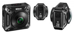 VIDEO - Arriva Nikon KeyMission 360, action camera 4K a 360°