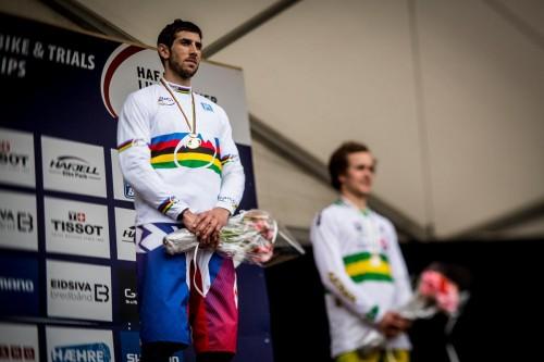 Gee Atherton, vincitore del campionato del mondo Dh 2014.