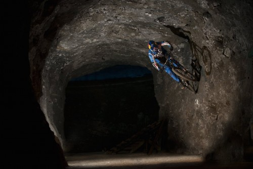 Marcelo Gutierrez performs at the Red Bull Ride into the Earth in Zipaquira, Colombia on October 13, 2015 // Andres Jaramillo/Red Bull Content Pool // P-20160114-00438 // Usage for editorial use only // Please go to www.redbullcontentpool.com for further information. //