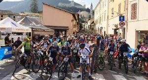 La SpoletoNorcia in Mtb: 2.000 bikers al via. Trionfa Ridolfi