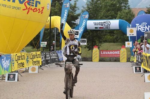 Juri Ragnoli, vincitore della 100 km dei Forti del 2014.