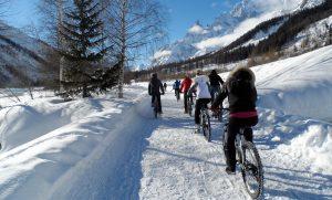 Snow Bike in Val d'Aosta: venite a vedere cos'è