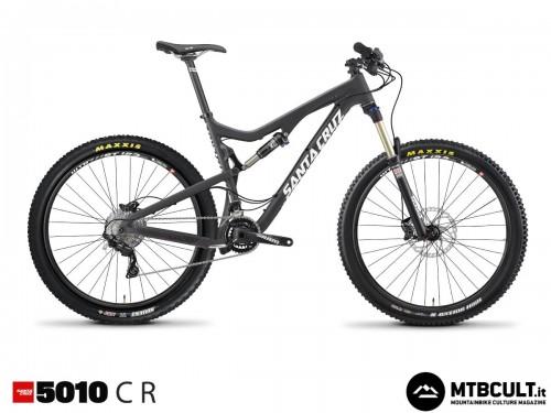 La Santa Cruz 5010 Carbon R: 3599$, forcella Rock Shox Sektor Gold e gruppo Shimano Deore/Slx.
