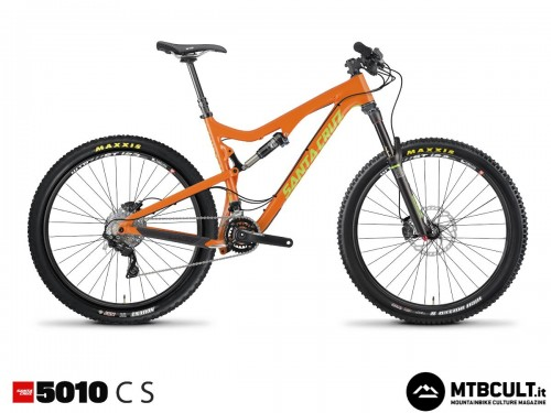 Santa Cruz 5010 Carbon S: 4699$ con forcella Rock Shox Pike Rc130 e cambio Shimano Slx.
