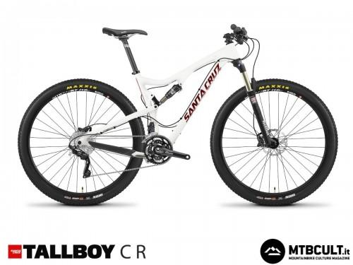 Santa Cruz Tallboy Carbon R: 3399$ con forcella Rock Shox Recon Gold e gruppo Shimano Deore/Xt.