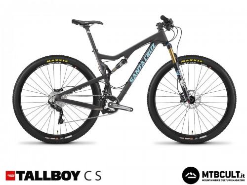 Santa Cruz Tallboy Carbon S: 3899$ con forcella Fox 32 Float e gruppo Shimano Slx/Xt.