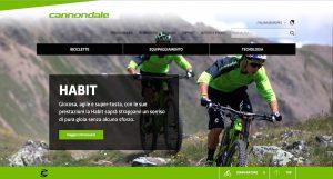Cannondale presenta il suo nuovo sito web