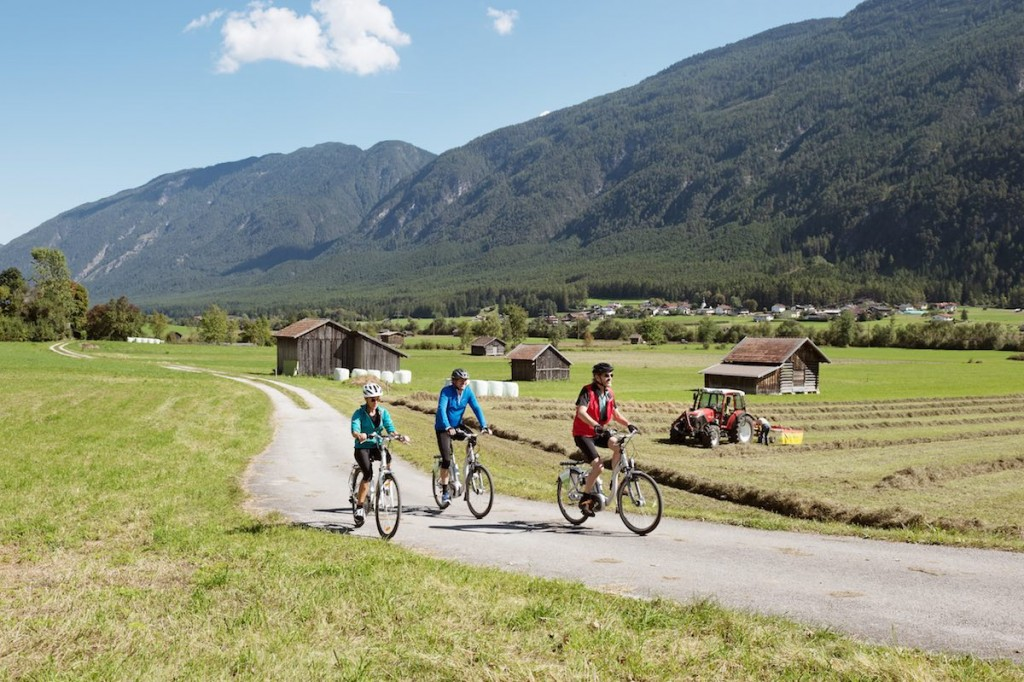 Tirol, Nassereith, Via Claudia Augusta Radweg