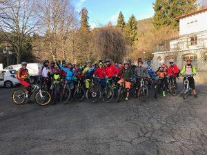 Christmas Ride: più di 50 al raduno con Ducci e Macheda