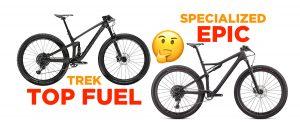"""Scegliere la prima full da 29"""": «Trek Top Fuel o Specialized Epic?»"""