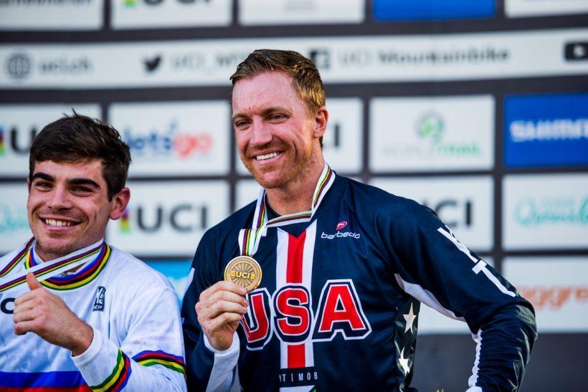 prima medaglia mondiale per Aaron Gwin