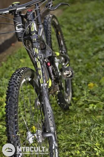 """La migliore Lefty di sempre è montata su una trailbike da 29"""". Foto di Ilario Biondi."""