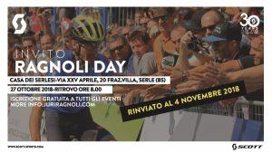 Ragnoli Day rinviato al 4 novembre