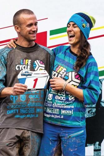 Manuel Ducci e Valentina Macheda del Team Life Cycle.