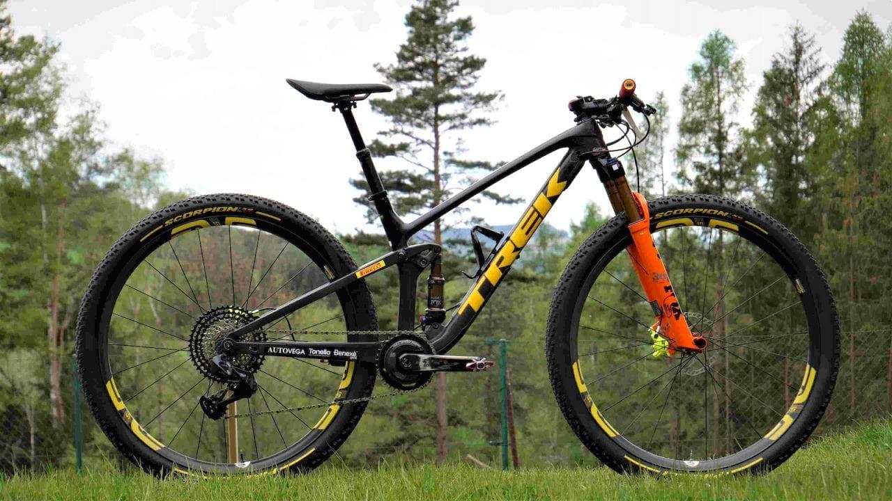Top Fuel Team Trek Pirelli, Escursione delle bici da Xc