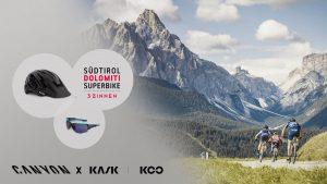 Con Canyon vinci un'iscrizione alla Dolomiti Superbike: ecco come fare