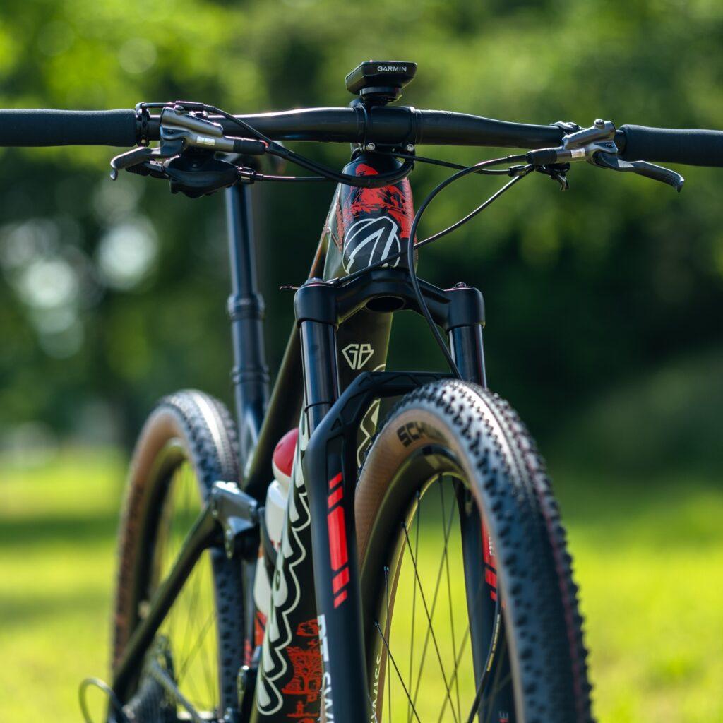 La bici di Flückiger per le Olimpiadi