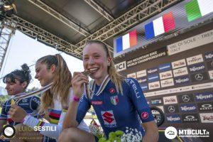 Mondiali Mtb in Val di Sole: con Sara Cortinovis arriva la 1ª medaglia!