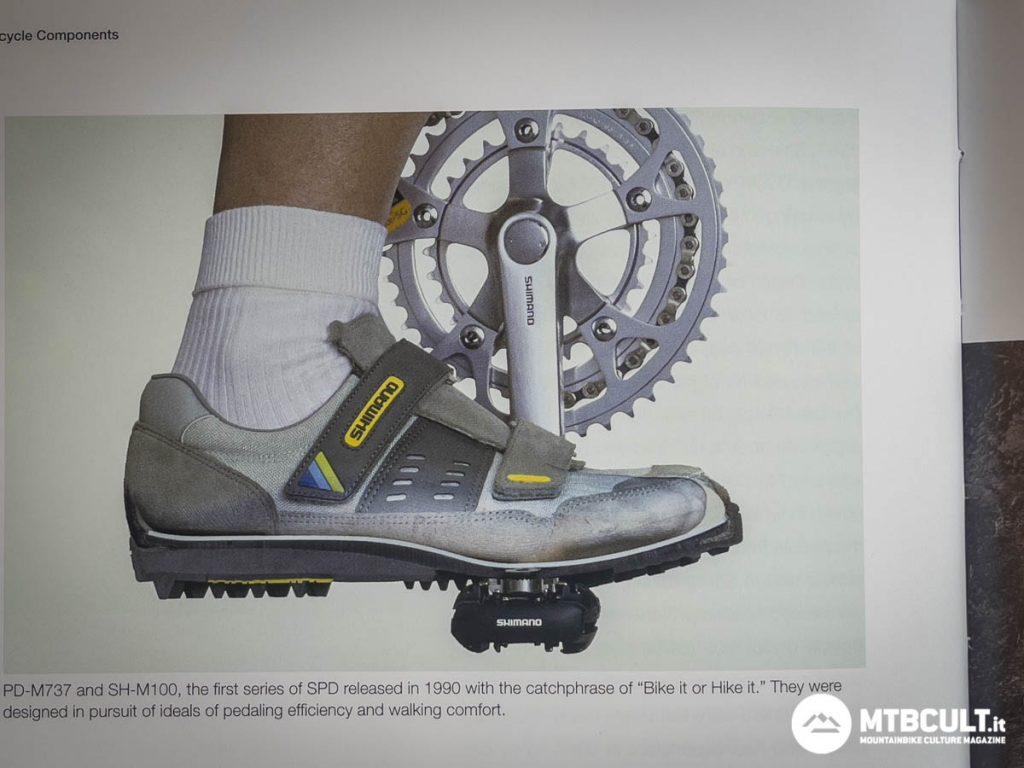 storia dei pedali Shimano SPD